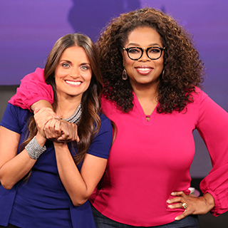 Dr, Shefali and Oprah Winfrey